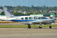 C-GXEY @ CYVR - 1973 Piper PA-31-350, c/n: 317305044 - by Terry Fletcher