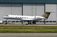 N168CE @ CYVR - 1999 Gulfstream Aerospace G-V, c/n: 568