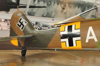 N19027 @ PAE - Tail of Focke Wulf Fw-190A-5/U3, c/n: 0151227 - Paul Allen Warbirds