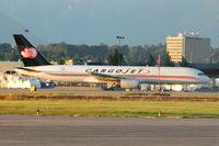 C-FKCJ @ CYVR - 1990 Boeing 757-236, c/n: 24792