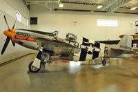 N5087F @ PAE - 1943 American Avia Inc NORTH AMERICAN P-51B, c/n: 42-106638 with Historic Flight Foundation