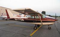 N1170M @ KAXN - Cessna 172K Skyhawk on the line. - by Kreg Anderson