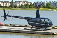 C-FHAV @ CYVR - 2002 Robinson R44 II, c/n: 10008 - by Terry Fletcher