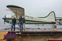 N726P @ S60 - 1989 Dehavilland/lake Union Air DHC2 MK1, c/n: 617  - the former USAF 53-2819