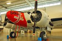 N585PB @ PAE - 1944 Beech RC-45J, c/n: 029585
