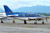 C-GWXL @ CYVR - 1979 Piper PA-31-350, c/n: 317952036