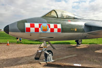 WN904 @ EGBK - 1954 Hawker Hunter F.2, c/n: S4/U/2912 now located at Sywell Air Museum