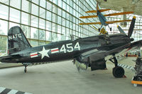 N4324 @ BFI - 1970 Goodyear FG1, c/n: 6163 ex Bu88454 in Seattle Museum of Flight