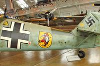 N342FH @ PAE - Tail of 1939 Messerschmitt BF 109E, c/n: 1342