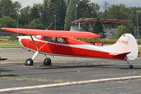 CF-NIE @ CYNJ - 1949 Cessna 170A, c/n: 19415