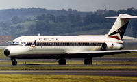 N1280L @ DCA - DC-9-32 of Delta Air Lines arriving at Washington National in May 1973. - by Peter Nicholson