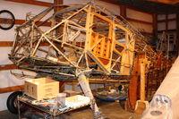 N18406 @ 3W5 - 1937 Stinson SR-9C, c/n: 5312 on rebuild at Concrete WA