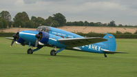 G-AHKX @ EGTH - 3. G-AHKX at Shuttleworth Pagent Air Display, Sept. 2012. - by Eric.Fishwick