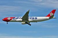HB-JHQ @ CYVR - Edelweiss 2010 Airbus A330-343X, c/n: 1193