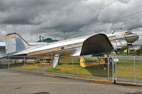 42-57506 @ CYNJ - 1940 Douglas C-49H, c/n: 2198 at Langley BC Museum - by Terry Fletcher
