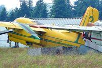 C-GWHK @ CYXX - 1958 Conair Firecat, c/n: 16 ex RCAN 1538