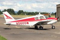N5605W @ MMV - Piper PA-28-160, c/n: 28742