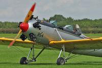 G-BTBH @ EGBK - 1942 Ryan ST3KR, c/n: 2063 - by Terry Fletcher