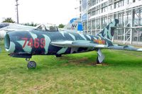 7469 @ BFI - Mikoyan-Gurevich MiG-17F, c/n: 1406016 outside Seattle Museum of Flight - by Terry Fletcher