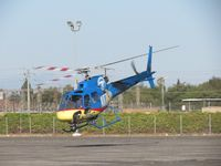 N71HD @ POC - Nose down to pick up speed for lift - by Helicopterfriend