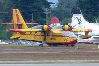 C-GFSK @ CYXX - 1986 Canadair CL215 1A10, c/n: 1085
