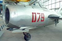 079 @ BFI - Mikoyan-Gurevich MiG 15bis, c/n: 124079 in Seattle Museum of Flight - by Terry Fletcher