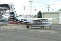 N512JD @ BFI - 1966 Aero Commander 680T, c/n: 1584-36