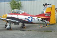N2800A @ PAE - 1949 North American T-28A, c/n: 49-1495