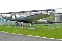 N17W @ BFI - 1942 Boeing B-17F, c/n: 42-29782 outside Museum of Flight Seattle