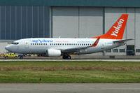 C-GANH @ CYVR - 1993 Boeing 737-505, c/n: 27153 of Air North