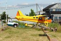 C-GUWF @ CYVR - 1952 Dehavilland DHC-2 MK. I, c/n: 287 former USAF 51-16808 - by Terry Fletcher