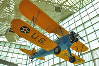 N8FL @ BFI - 1937 Boeing A75, c/n: 75-055 in Seattle Museum of Flight