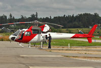 ZK-HNW @ CYNJ - 2005 Aerospatiale AS 350 B-2, c/n: 3908 - the former C-FMBC back at Langley BC - by Terry Fletcher