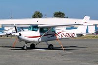 C-FNJD @ CZBB - Cessna 152 [152-81371] Boundary Bay~C 20/07/2008 - by Ray Barber
