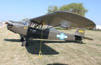 N53768 @ KOSH - Taylorcraft L-2A