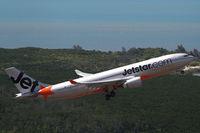 VH-EBR @ YBCS - Jetstar Airbus A330 - by Thomas Ranner