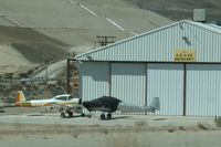 N5330K - Parked alongside an unknown Navion off HWY 15 at the Osborne private strip