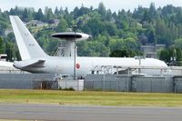 64-3501 @ BFI - Japanese 1994 Boeing 767-27C AWACS, c/n: 27385/557 - by Terry Fletcher