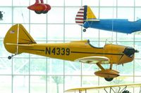 N4339 @ BFI - 1970 Stabler-bowers Fly Baby 1-A, c/n: 68-15 at Seattle Museum of Flight