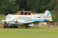 N3165P @ OKH - 1957 Piper PA-23, c/n: 23-1097