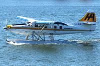 C-FHAD @ CYVR - 1956 Dehavilland DHC-3, c/n: 119