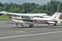 C-GECQ @ CYNJ - 1975 Cessna 172M, c/n: 172-64637 - by Terry Fletcher