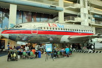 N213US @ BFI - 1969 Boeing 737-201, c/n: 20213 at Seattle Museum of Flight