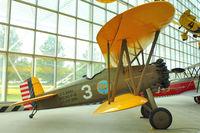 N872H @ BFI - 1929 Boeing 100, c/n: 1143 at Seattle Museum of Flight