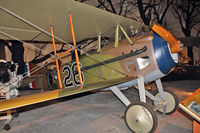 N3883F @ BFI - Windward Aviation SPAD XIII, c/n: CFM003 at Seattle Museum of Flight