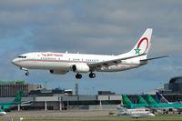 CN-MVI @ EIDW - Landing Rwy 28 at Dublin. - by Noel Kearney