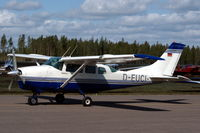 D-EUCI @ ESMX - This Cessna U206D was used for paradropping at Småland Airport, Växjö, Sweden. - by Henk van Capelle