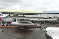 17058 @ CYNJ - De Havilland DH-100 Vampire F.3, c/n: EEP42376