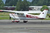 C-FZND @ CYNJ - 1948 Taylorcraft BC12D-85, c/n: 12035