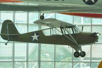 N47427 @ BFI - 1943 Aeronca 0-58B, c/n: 058B-9223 at Seattle Museum of Flight
